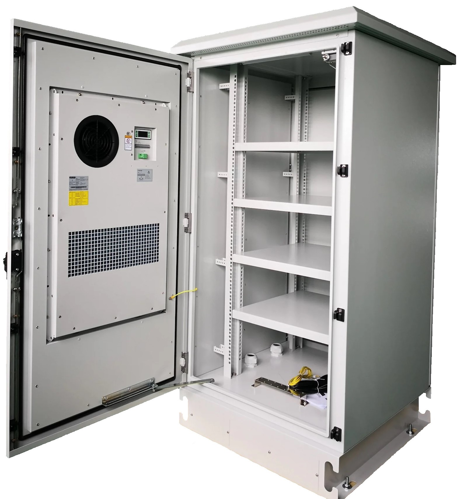 Metal-Outdoor-Cabinet-with-Air-Conditioner-for-Telecom-Use 22