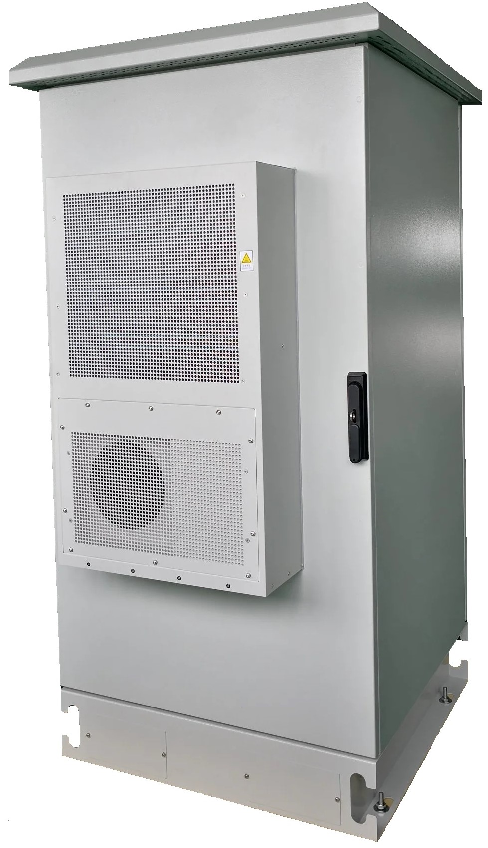 Metal-Outdoor-Cabinet-with-Air-Conditioner-for-Telecom-Use